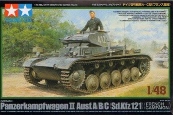 Tamiya Panzer II Ausf.A/B/C French Campaign