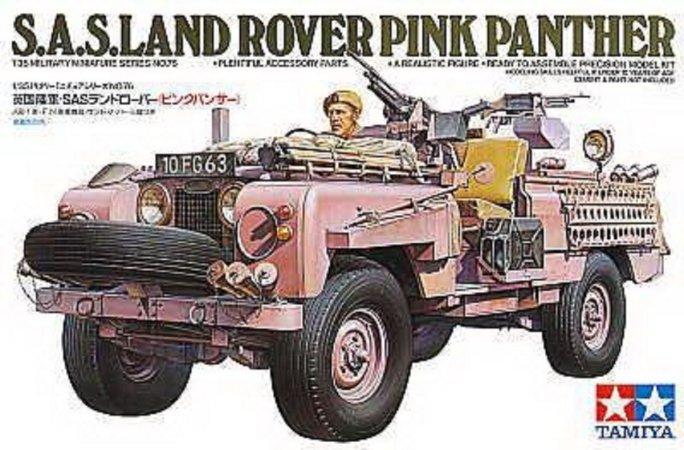 Tamiya SAS L.Rover Pink Panther