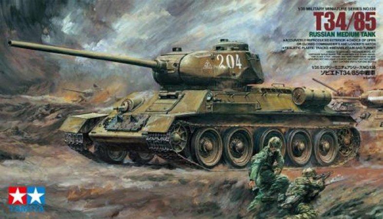 Tamiya T-34/85 LL