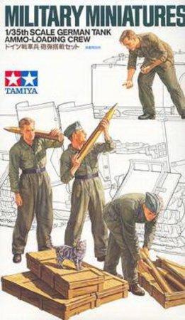 Tamiya German Tank Ammo-Loading Crew