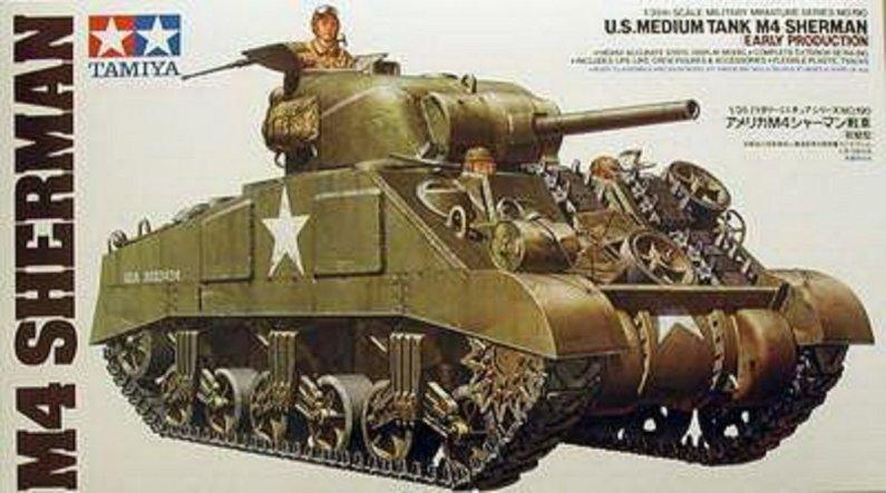 Tamiya M4 Sherman Early