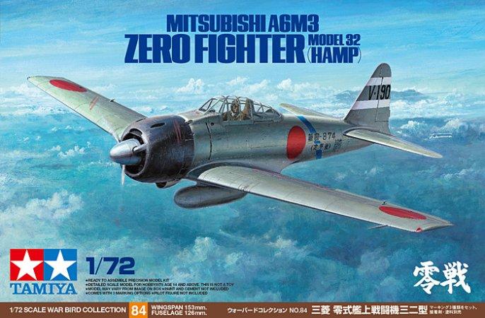 Tamiya A6M3 Zero Model 32 (Hamp)