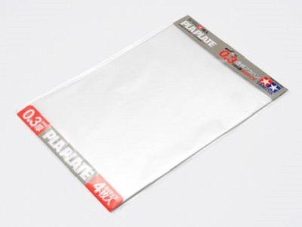 Tamiya Plastová destička 0.3mm B4 *4 průhledná