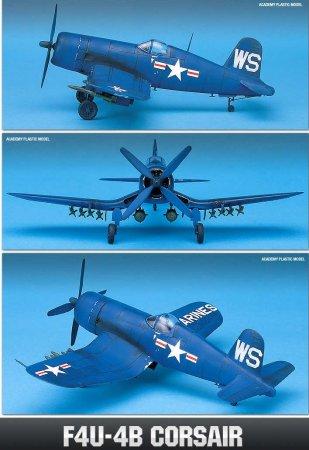 Academy Letadlo F4U-4B Corsair