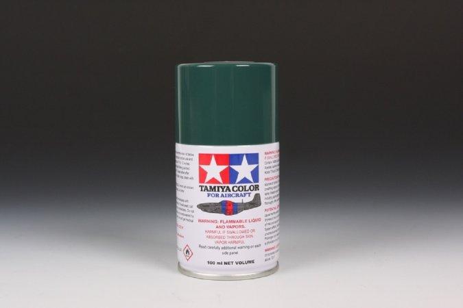 Tamiya Barva ve spreji polomatná - Tmavě zelená (Dark Green - IJN) AS-1