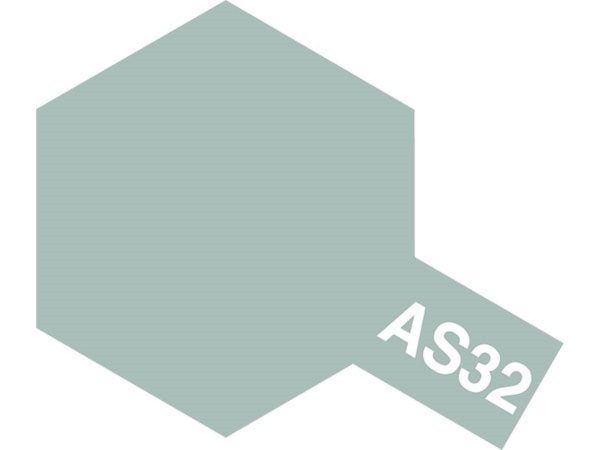 Tamiya Barva ve spreji polomatná - Středně šedá ( Medium Sea Grey 2 RAF) AS-32