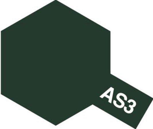 Tamiya Barva ve spreji polomatná - Šedo-zelená (Grey Green Luftwaffe) AS-3