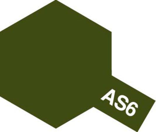 Tamiya Barva ve spreji polomatná - Olivově zelená (Olive Drab USAAF) AS-6