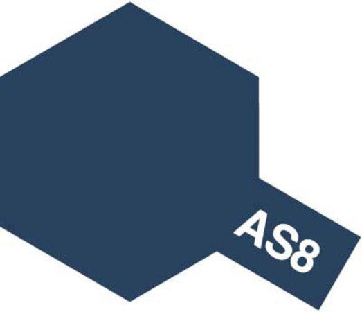 Tamiya Barva ve spreji polomatná - Tmavě modrá (Navy Blue) AS-8