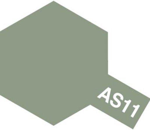 Tamiya Barva ve spreji polomatná - Středně šedá (Medium Sea Grey - RAF) AS-11