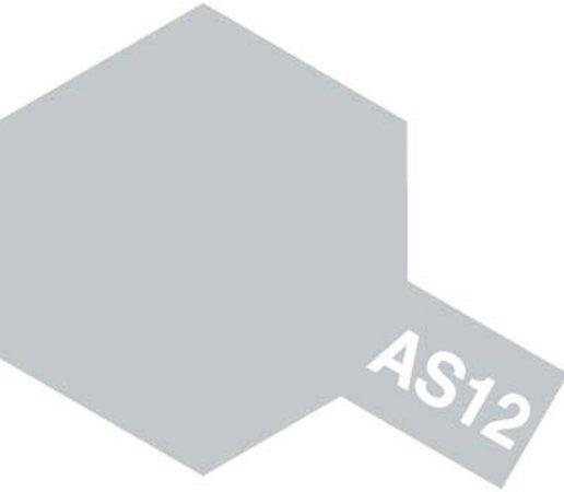 Tamiya Barva ve spreji polomatná - Stříbrná kovová (Bare-Metal Silver) AS-12