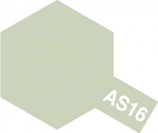 Tamiya Barva ve spreji polomatná - Světle šedá (Light Gray - USAF) AS-16
