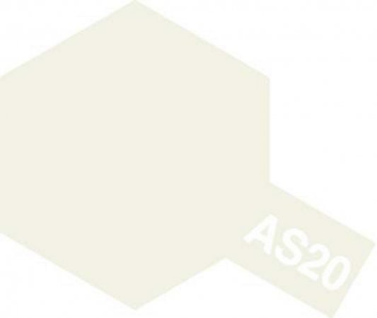 Tamiya Barva ve spreji polomatná - Bílá (Insignia White - USN) - AS-20