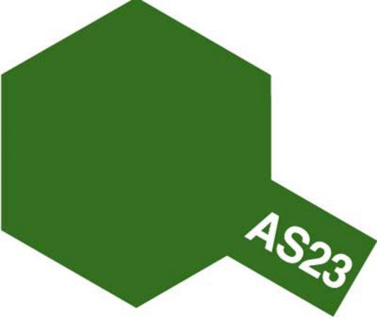 Tamiya Barva ve spreji polomatná - Světle zelená (Light Green Luftwaffe) AS-23