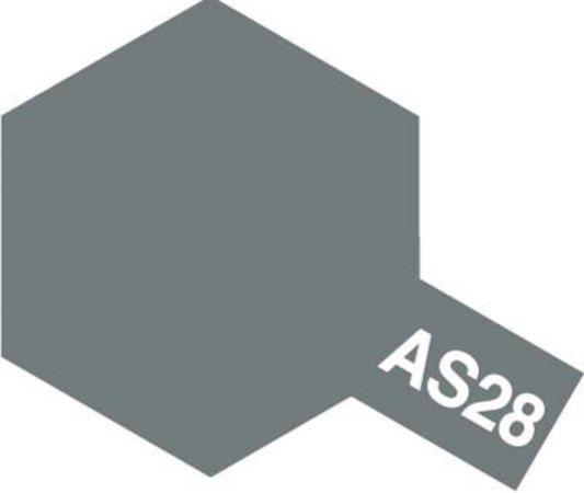 Tamiya Barva ve spreji polomatná - Středně šedá (Medium Gray) AS-28