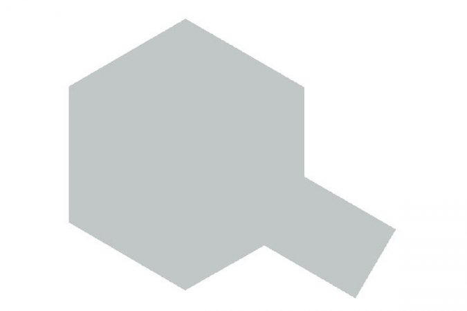 Tamiya Barva ve spreji - Stříbrná (Silver) PS-12
