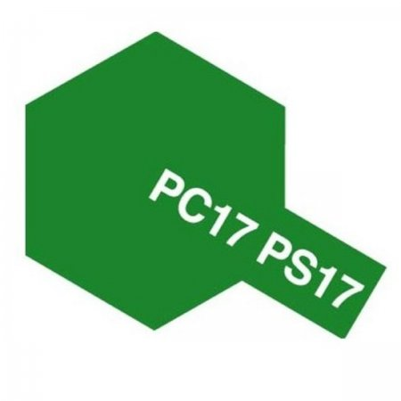 Tamiya Barva na leanové karoserie - Kovově zelená (Metallic Green) PC-17