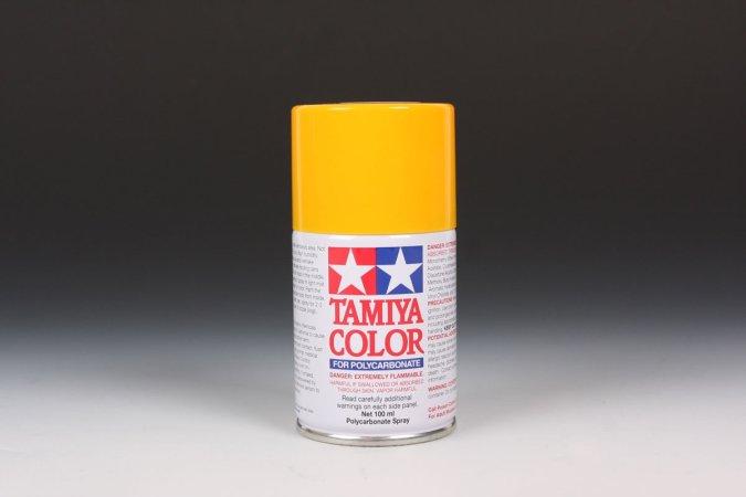 Tamiya Barva ve spreji - Žlutá (Camel Yellow) PS-19