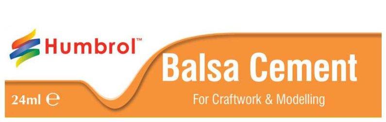 Humbrol Balsa Cement - rychleschnoucí lepidlo na balzu - 24 ml
