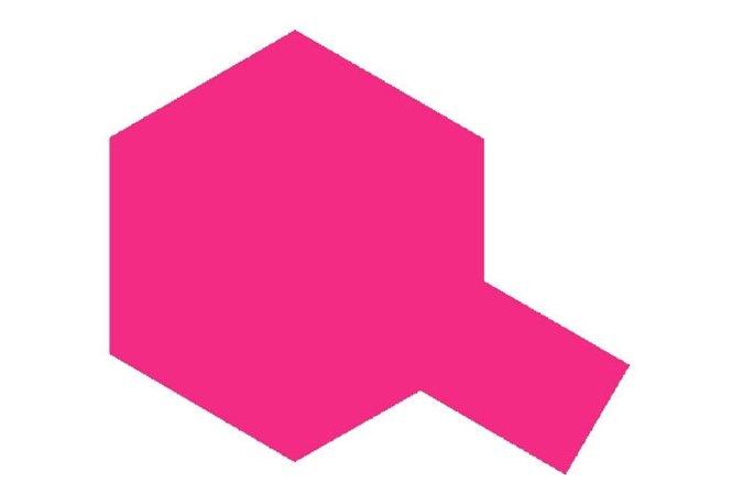 Tamiya Barva ve spreji - Průsvitná růžová (Translucent Pink) PS-40