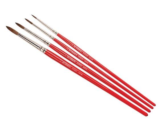 Humbrol Evoco Brush Pack - Sada štětců velikost č. 0, 2, 4 a 6