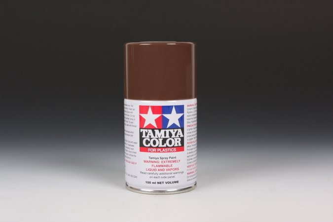 Tamiya Barva ve spreji polomatná - Hnědá (Wooden Deck Brown IJN) TS-69