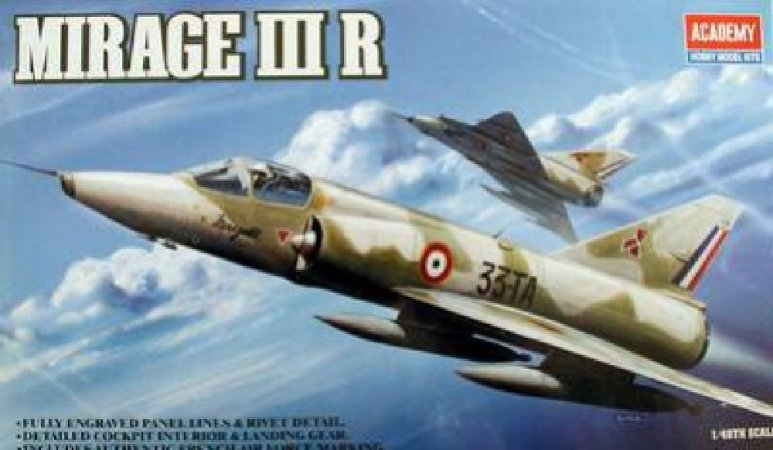 Academy Letadlo Mirage IIIR Fighter