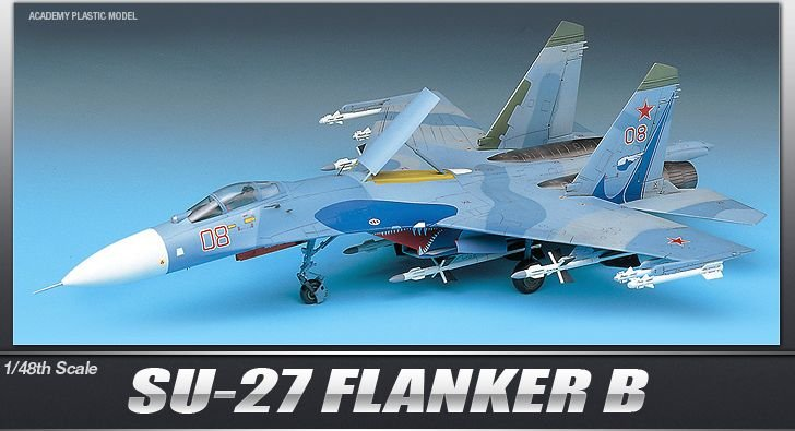 Academy SU-27 Flanker B
