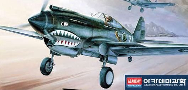 Academy P-40C Tomahawk