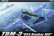 """Academy TBM-3 """"USS Bunker Hill"""""""