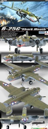 """Academy B-25G """"Cannon Nose"""""""