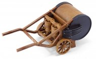 Italeri Plastikový model Leonardo Da Vinci - Mechanický buben (Mechanical drum)