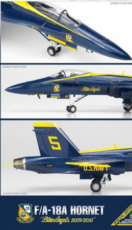 Academy F/A-18A Blue Angels DD