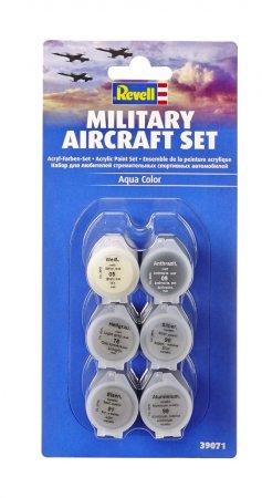 Revell Sada akrylových barev Aqua Color 39071 - Military Aircraft Set