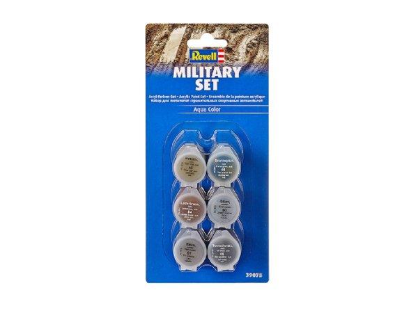 Revell Sada akrylových barev Aqua Color 39075 - Military Set
