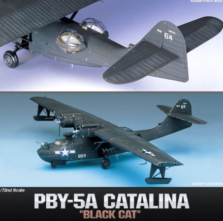 Academy PBY-5A Black Cat