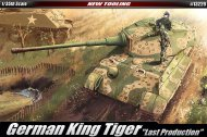 "Academy King Tiger ""Last Production"""