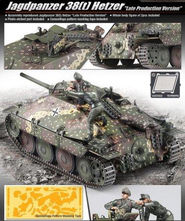 Academy Jagdpanzer 38(t) Hetzer Late
