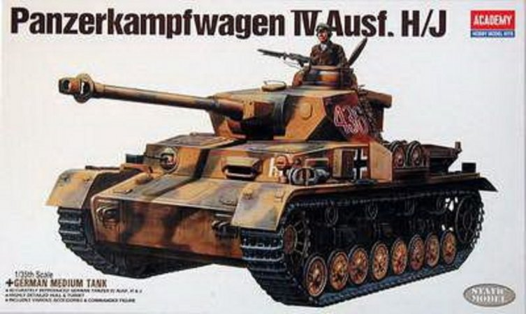 Academy Panzer IV Ausf.H