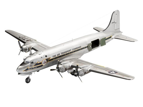 Revell Plastikový model letadla C-54D Skymaster 70th Anniversary Berlin Airlift - Limitovaná edice