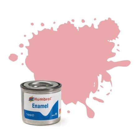 Humbrol Barva emailová matná - Pastelově růžová (Pastel Pink) - č. 57