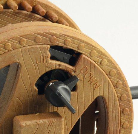 Italeri Plastikový model Leonardo Da Vinci - Pákový jeřáb (Leverage Crane)