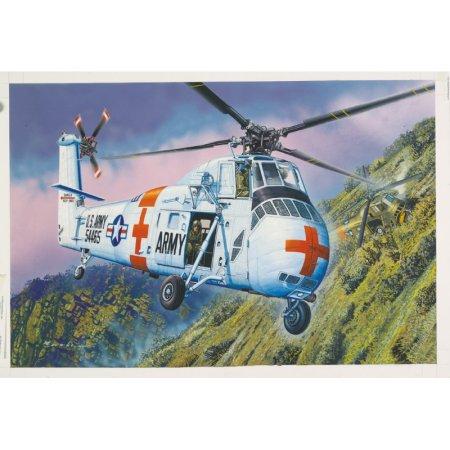 MRC Plastikový model vrtulníku - CH-34 US Army Rescue