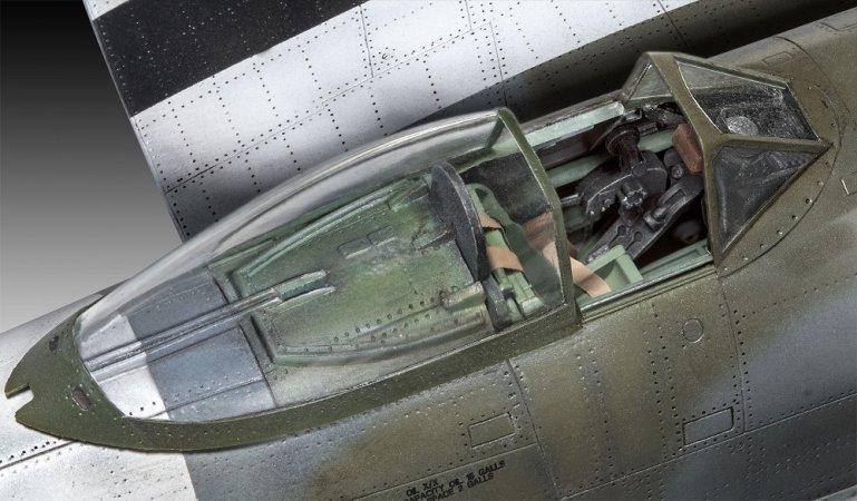 Revell Plastikový model letadla Hawker Tempest V