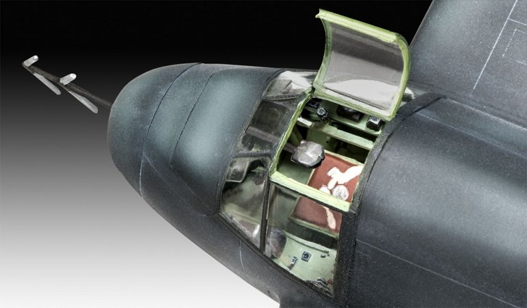 Revell Plastikový model letadla Beaufighter IF Nightfighter