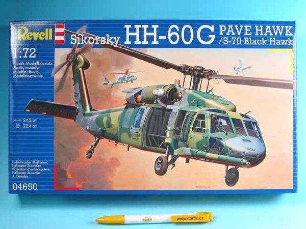 Revell Plastikový model vrtulníku HH-60G PAVE HAWK - Výprodej