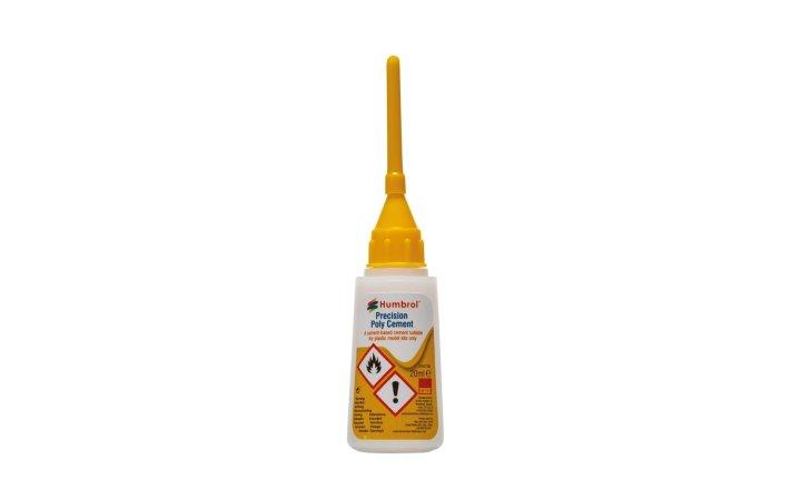 Humbrol Precision Poly Cement - lepidlo na plasty s aplikátorem - 20 ml