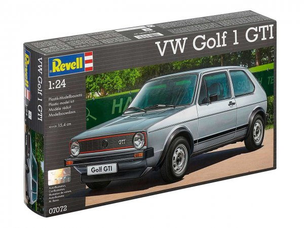 Revell Plastikový model auta VW Golf 1 GTI