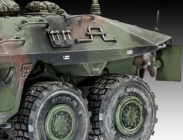 Revell Plastikový model tanku SpPz 2 Luchs A1/A2 - Výprodej