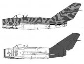 Směr Plastikový model letadla Jianjiji J-2